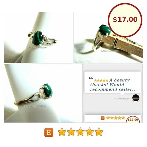 #Ring #GreenBandedMalachite #Stone #Midi #Sterling #Silver #Jewelry #SylCameoJewelsStore #Jewelry #MidiRing #TintegrityT #etsyspecialt #integrityTT #3friends @EtsyClub  #etsy #PromoteEtsy #PictureVideo @SharePicVideo