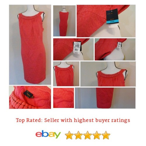 Just Taylor Women's #Dress Size 20W Pink Sleeveless Party NWT Cocktail Jacquard #Cocktail #JustTaylor #etsy #PromoteEbay #PictureVideo @SharePicVideo