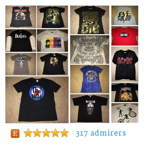 MUSIC // BAND Merch #etsy shop #music #bandmerch @casual_is_me  #etsy #PromoteEtsy #PictureVideo @SharePicVideo