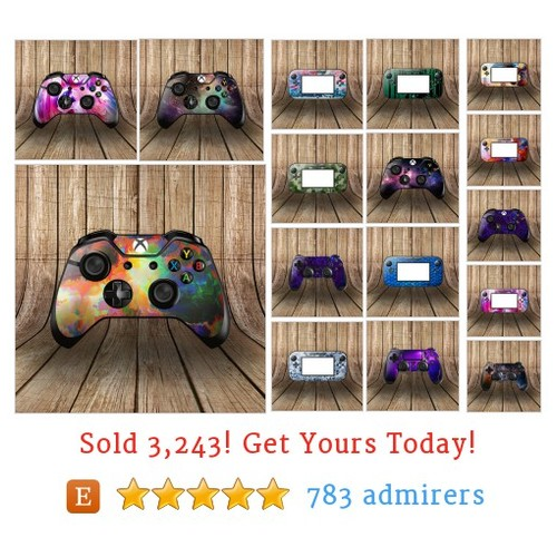 Controller Skins Etsy shop #etsy @thedecalbros  #etsy #PromoteEtsy #PictureVideo @SharePicVideo