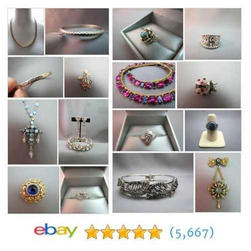 Jewelry Items in Bauble World Vintage Jewelry store #ebay @rebeccahoffman6  #ebay #PromoteEbay #PictureVideo @SharePicVideo