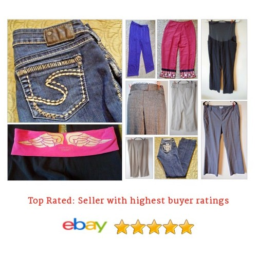 My #EBAY #Collection of #Jeans & #Pants #ebay #PromoteEbay #PictureVideo @SharePicVideo