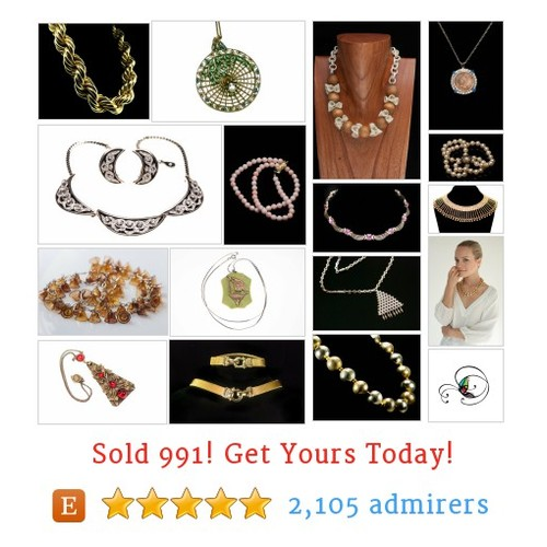 Vintage Necklaces Etsy shop #etsy @amagnificentmes  #etsy #PromoteEtsy #PictureVideo @SharePicVideo