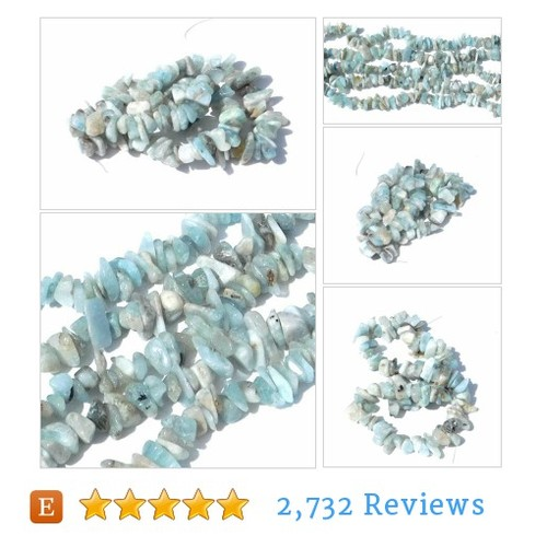 Natural Aquamarine Stone Chips, Full #etsy @celestialbeader  #etsy #PromoteEtsy #PictureVideo @SharePicVideo