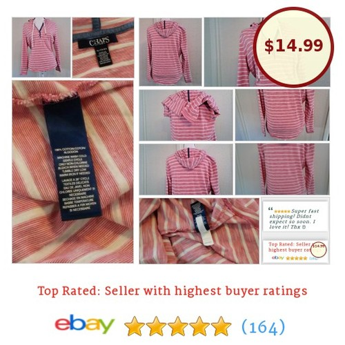 Chaps Denim Ralph Lauren Women's Shirt Sz XL Multi-Color Stripes Hoodie Cotton | eBay #Chap #Sweat #Hoody #etsy #PromoteEbay #PictureVideo @SharePicVideo