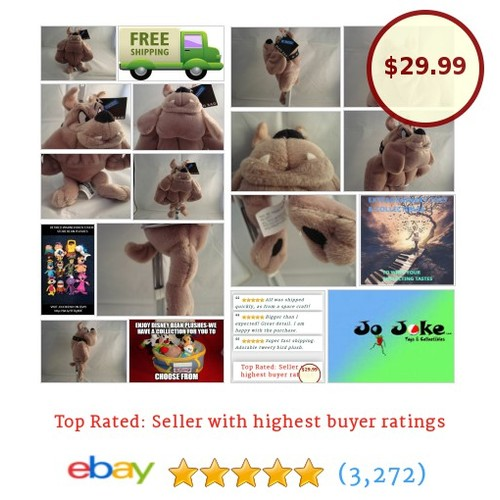 WARNER BROS STUDIO STORE-HECTOR BEAN PLUSH BULLDOG-9-GRANNY'S PROTECTOR-NEW/TAGS | eBay #WARNERBROSSTUDIOSTORE #etsy #PromoteEbay #PictureVideo @SharePicVideo