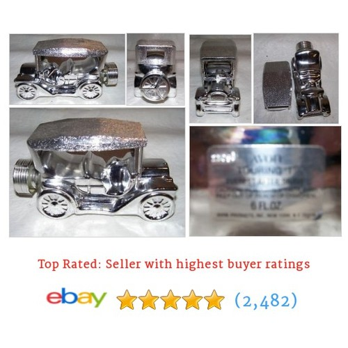 VINTAGE AVON TOURING T EVEREST AFTER SHAVE MODEL T CAR DECANTER 6 #ebay @reuseablegoods  #etsy #PromoteEbay #PictureVideo @SharePicVideo