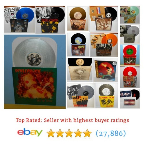 PUNK VINYL Great deals from This Is A Record Store #ebay @myrecordstore  #ebay #PromoteEbay #PictureVideo @SharePicVideo