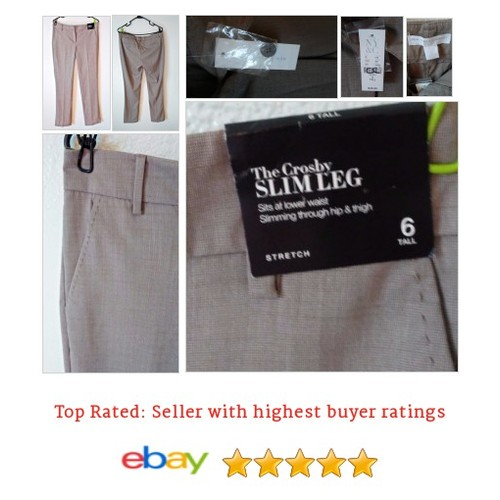 New York & Co Crosby Slim Leg Sz 6 Women's Pants Trousers Beige Inseam 33 NWT | eBay #Pant #NewYork #Company #etsy #PromoteEbay #PictureVideo @SharePicVideo