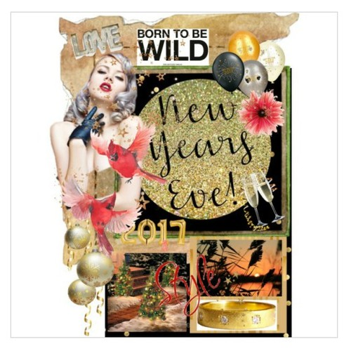 Born To Be Wild IN 2017 #polyvorecontest #Polyvorestyle #NewYearEve #artexpression #artset #artcollage #EtsyRT  #socialselling #PromoteStore #PictureVideo @SharePicVideo