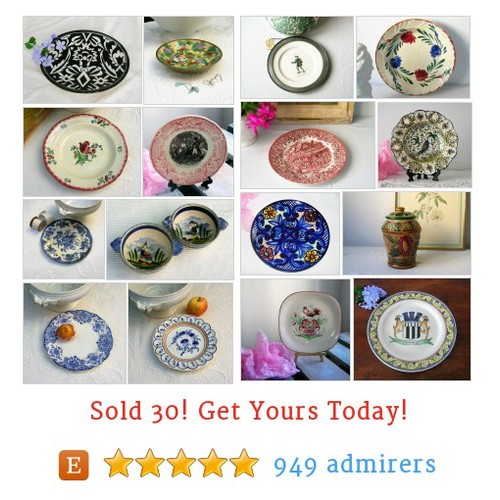 Assiettes de collection Etsy shop #etsy @syellbleu https://www.SharePicVideo.com/?ref=PostPicVideoToTwitter-syellbleu #etsy #PromoteEtsy #PictureVideo @SharePicVideo