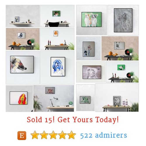 Art with dogs Etsy shop #etsy @kleckerlabor https://www.SharePicVideo.com/?ref=PostPicVideoToTwitter-kleckerlabor #etsy #PromoteEtsy #PictureVideo @SharePicVideo
