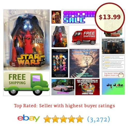 STAR WARS-ROTS-ROYAL GUARD--2005-NEW-RARE #23-#HASBRO | eBay  #etsy #PromoteEbay #PictureVideo @SharePicVideo