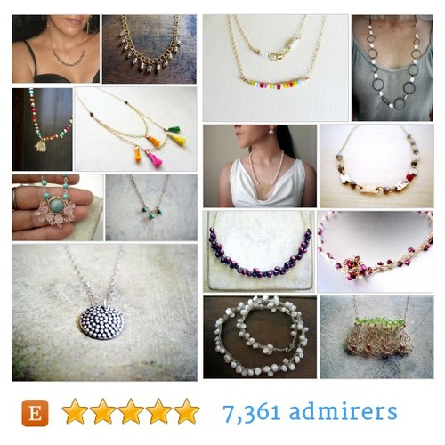 Necklaces Art Jewelry by @lilyja  #etsy shop #Necklace  #etsy #PromoteEtsy #PictureVideo @SharePicVideo