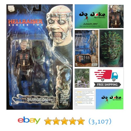 SURGEON-HELLRAISER-SERIES 2-2003-NEW-CUT OUT UR SOUL-CHAINS-WICKED KNIVES-RARE!! | eBay #reeltoysneca #etsy #PromoteEbay #PictureVideo @SharePicVideo