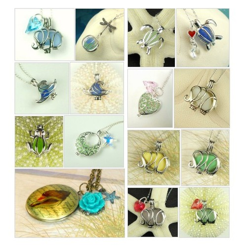Sea Glass Lockets @seaglassgems  #socialselling #PromoteStore #PictureVideo @SharePicVideo