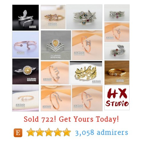 Diamond Rings Etsy shop #etsy @hx_studio  #etsy #PromoteEtsy #PictureVideo @SharePicVideo