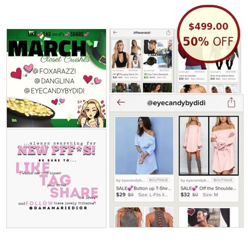 MARCH CRUSHES! ⬇️💕 READ DESCRIPTION 💕⬇️ @itsdanamarie https://www.SharePicVideo.com/?ref=PostPicVideoToTwitter-itsdanamarie #socialselling #PromoteStore #PictureVideo @SharePicVideo