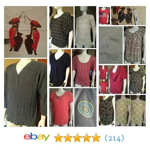 Tops Great deals from Konbloh sCloset #ebay @kon_treasurcove  #ebay #PromoteEbay #PictureVideo @SharePicVideo