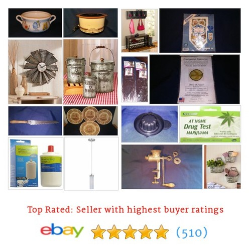For the Home Items in ShabbyShackThrift store #ebay @life_benefit  #ebay #PromoteEbay #PictureVideo @SharePicVideo