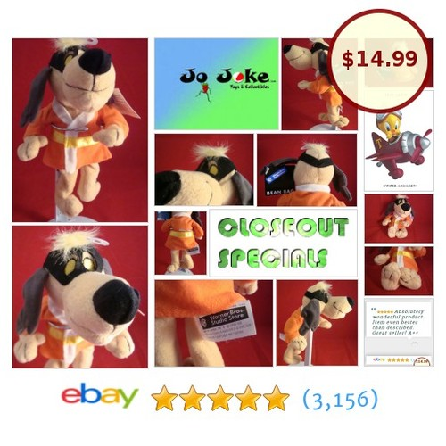 WARNER BROS STUDIO STORE-HONG KONG PHOOEY-8 INCH BEAN PLUSH-NEW/TAGS-1998-COOL | eBay #WARNERBROSSTUDIOSTORE #etsy #PromoteEbay #PictureVideo @SharePicVideo