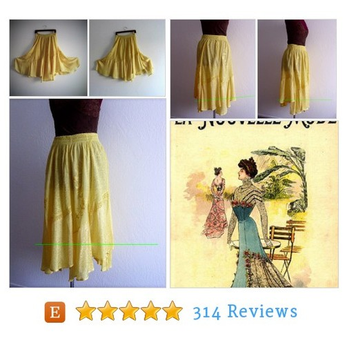 Vintage inspired Yellow Embellished #etsy @khegreen  #etsy #PromoteEtsy #PictureVideo @SharePicVideo