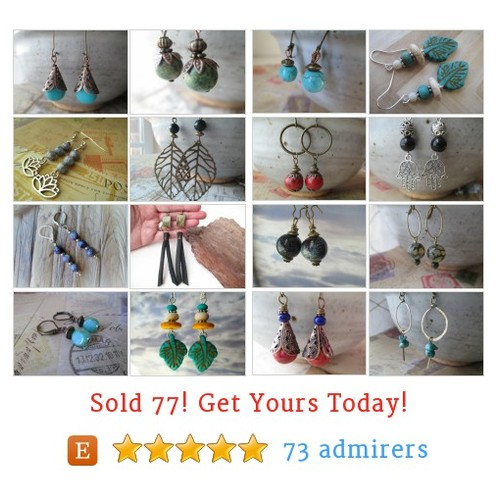 Earrings Etsy shop #earring #etsy @millylillyvtg  #etsy #PromoteEtsy #PictureVideo @SharePicVideo