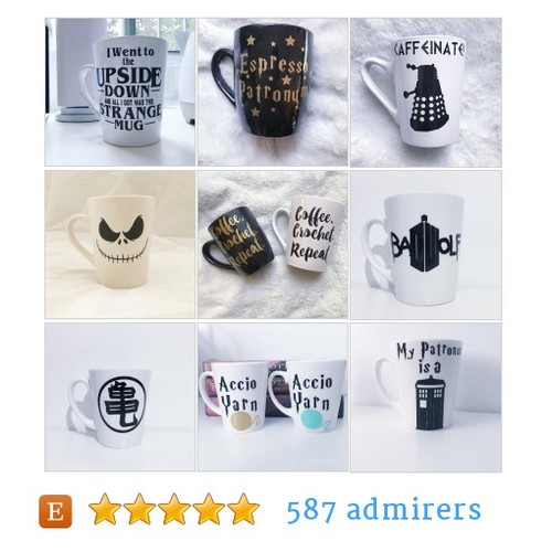 Mugs by AChainofEvents Etsy shop #Mug #etsy #PromoteEtsy #PictureVideo @SharePicVideo