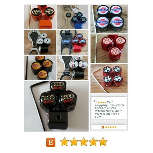 A lot  dust caps you will not find elsewhere. by limiteddustcaps Etsy shop #ford #vxr #amg #toyota #bmw #VW #audi #etsy #PromoteEtsy #PictureVideo @SharePicVideo