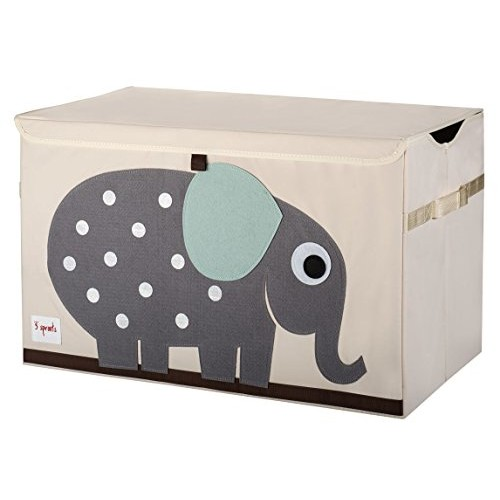 3 Sprouts Elephant Toy Chest, Grey - Every Thing Baby #socialselling #PromoteStore #PictureVideo @SharePicVideo