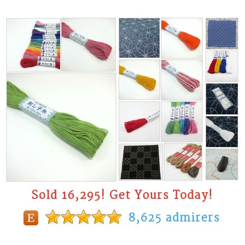 Sashiko Supplies Etsy shop #sashikosupply #etsy @snuggly_monkey  #etsy #PromoteEtsy #PictureVideo @SharePicVideo