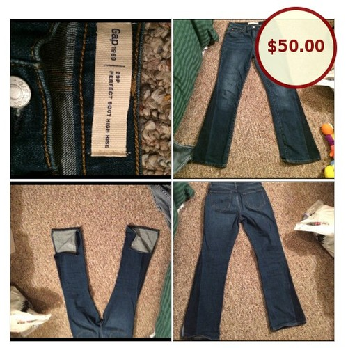 GAP 1969 Size 29P PERFECT BOOT HIGH RISE @lala_motifs https://www.SharePicVideo.com/?ref=PostPicVideoToTwitter-lala_motifs #socialselling #PromoteStore #PictureVideo @SharePicVideo
