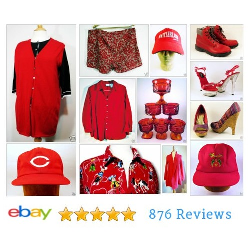 dramaticallybeautifulhome | eBay  SEEING RED ITEMS FOR SALE AT ON EBAY! #ebay #PromoteEbay #PictureVideo @SharePicVideo