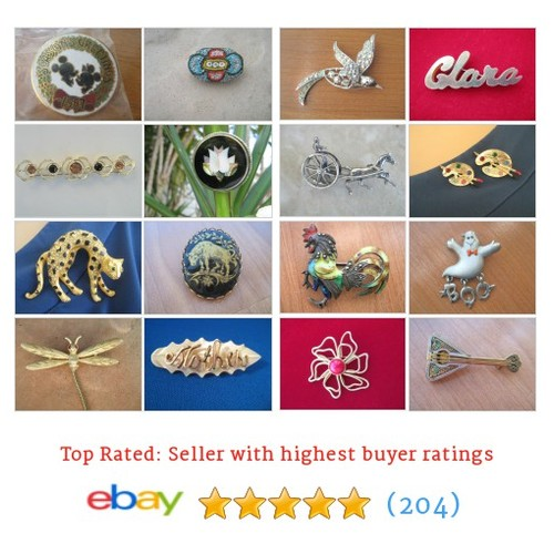 Brooches/Pins/Clips Great deals from Old New Shop #ebay @lolatrail  #ebay #PromoteEbay #PictureVideo @SharePicVideo