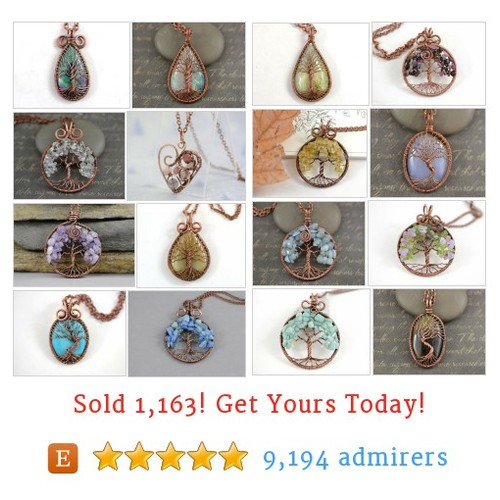 Copper Wire wrap Jewelry Etsy shop #etsy @marysia2011 https://www.SharePicVideo.com/?ref=PostPicVideoToTwitter-marysia2011 #etsy #PromoteEtsy #PictureVideo @SharePicVideo