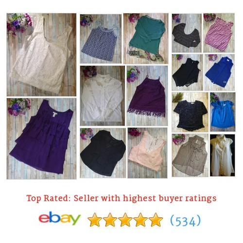 Tops Items in cbfinds14 store #ebay @clarisaannstyle  #ebay #PromoteEbay #PictureVideo @SharePicVideo