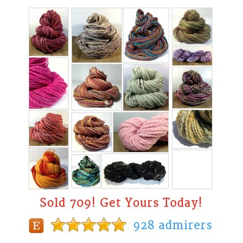Handspun Yarns Etsy shop #etsy @davenportgroves  #etsy #PromoteEtsy #PictureVideo @SharePicVideo