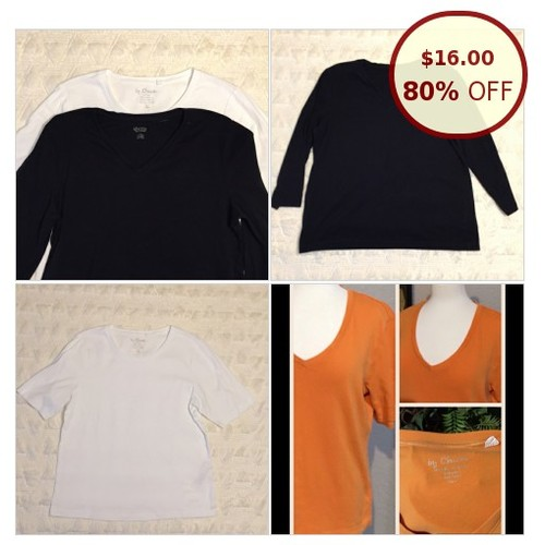 Bundle of 3 Tops Chico's Size 2 (Large) @katesugguser https://www.SharePicVideo.com/?ref=PostPicVideoToTwitter-katesugguser #socialselling #PromoteStore #PictureVideo @SharePicVideo