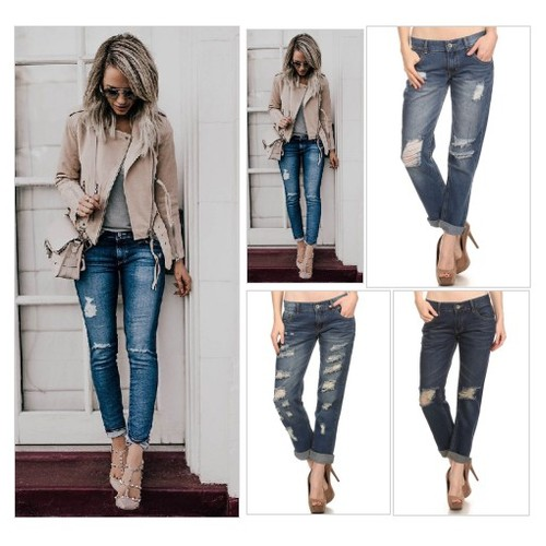 ! A Favorite Blue Skinny Distressed Jean @ItsCowgirlThing https://SharePicVideo.com?ref=PostVideoToTwitter-ItsCowgirlThing #socialselling #PromoteStore #PictureVideo @SharePicVideo