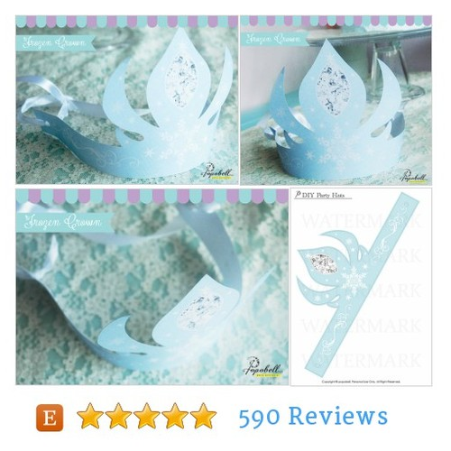 Elsa Crown for Frozen Birthday Party. #etsy @popobell  #etsy #PromoteEtsy #PictureVideo @SharePicVideo