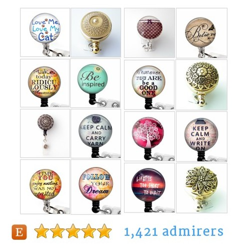Badge Reels - NEW #etsy shop #badgereelsnew @plumbeadacious  #etsy #PromoteEtsy #PictureVideo @SharePicVideo