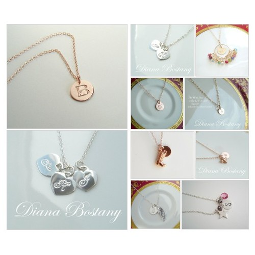 Initial and Monogram Necklaces | Diana Bostany @dianabostany https://SharePicVideo.com?ref=PostVideoToTwitter-dianabostany #socialselling #PromoteStore #PictureVideo @SharePicVideo