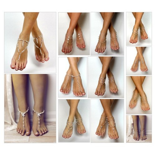 Romance Collection Barefoot Sandals I Bare Sandals @baresandalsllc  #socialselling #PromoteStore #PictureVideo @SharePicVideo