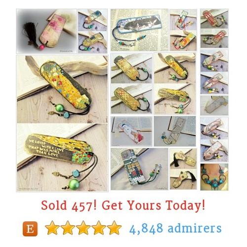 Wooden Bookmarks Etsy shop #etsy @zivilef  #etsy #PromoteEtsy #PictureVideo @SharePicVideo