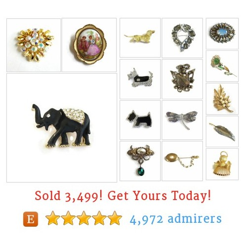 Vintage Brooches / Pins Etsy shop #pin #vintagebrooch #etsy @myvintagejewel  #etsy #PromoteEtsy #PictureVideo @SharePicVideo