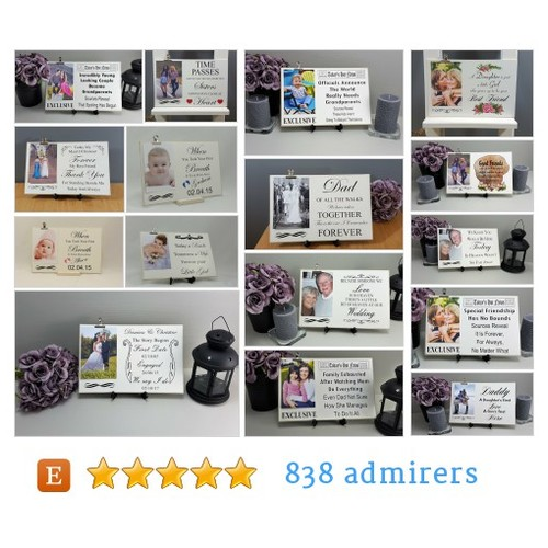 Picture Clip Signs #etsy shop #pictureclipsign @hmadeskproducts  #etsy #PromoteEtsy #PictureVideo @SharePicVideo
