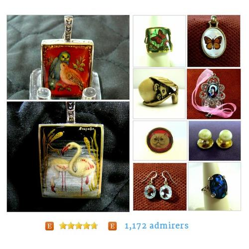 Vintage Jewelry & Collectibles Store from SylCameoJewelsStore Etsy shop #etsy_lover #etsyRT #etsy #PromoteEtsy #PictureVideo @SharePicVideo