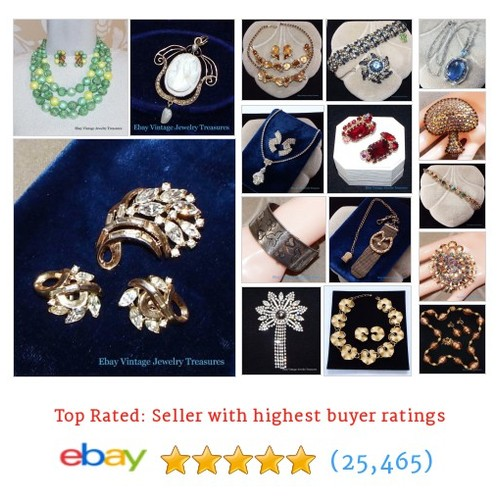 Vintage Jewelry Great deals from Vintage Jewelry Treasures #ebay @vintagejewelryt  #ebay #PromoteEbay #PictureVideo @SharePicVideo