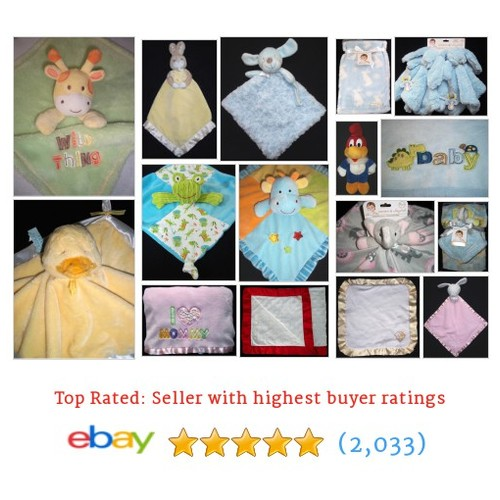 Baby Blankets / Loveys Great deals from Lynderae's #ebay @lyndeislucky  #ebay #PromoteEbay #PictureVideo @SharePicVideo