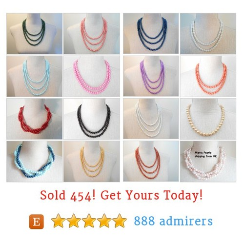 Necklaces Etsy shop #etsy @misticpearls https://www.SharePicVideo.com/?ref=PostPicVideoToTwitter-misticpearls #etsy #PromoteEtsy #PictureVideo @SharePicVideo